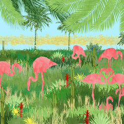 Flamingo | Wall coverings / wallpapers | WallPepper