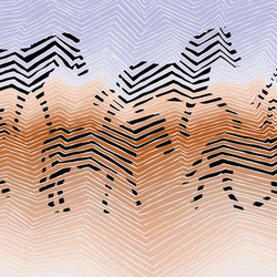 Zebras | Wall coverings / wallpapers | WallPepper