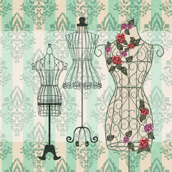Nostalgic mannequin | Wall coverings / wallpapers | WallPepper