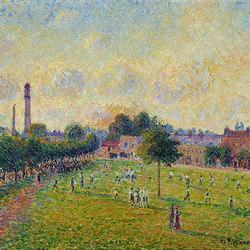 Vue de Kew's green a Londres en 1892 | Wall coverings / wallpapers | WallPepper