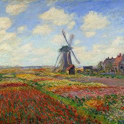 Champs de tulipes en Hollande | Wandbeläge / Tapeten | WallPepper