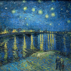 La notte stellata | Revestimientos de paredes / papeles pintados | WallPepper