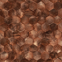Dune Mosaics | Corten | Piastrelle metallo | Dune Cerámica