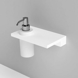 Unico soap dispenser | Bath shelves | Rexa Design