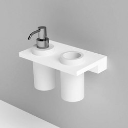 Unico soap dispenser | tooth-brush holder | Soap dispensers | Rexa Design