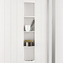Unico CORIAN®  wall cabinet | Bath shelves | Rexa Design