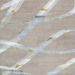 4-Minute Rug - Ribbon aquamarine | Rugs | REUBER HENNING