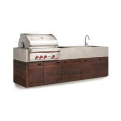 bbqube Professional | 3000 Wolf Grill | Compact outdoor kitchens | OCQ