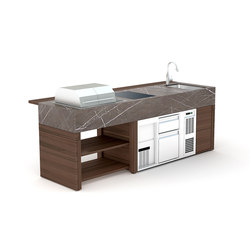 bbqube Professional | 2500 e-Grill | Compact outdoor kitchens | OCQ