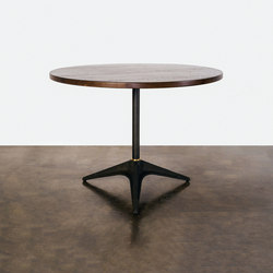 Compass bistro table circular small/large | Cafeteria tables | District Eight