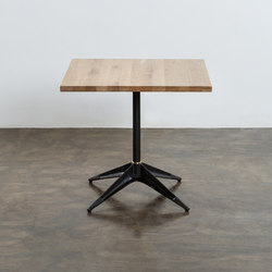 Compass bistro table square small/large | Cafeteria tables | District Eight