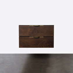 Drift double drawer unit | Aparadores / cómodas | District Eight