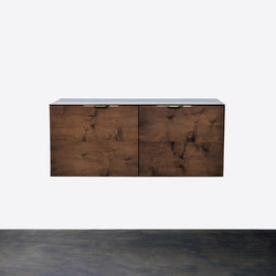 Drift 2 door cabinet | Archivadores | District Eight