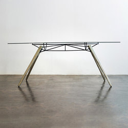 Kahn high dining table | Dining tables | District Eight