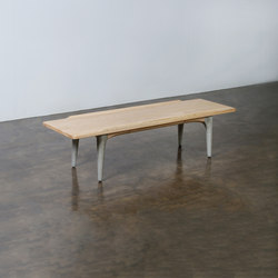 Salk coffee table rectangular | Mesas de centro | District Eight