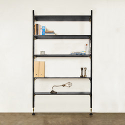 THEO WALL UNIT WITH LARGE SHELVES | Estantería | District Eight