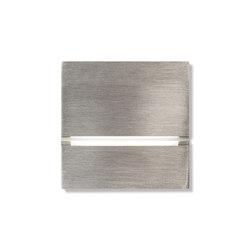 Via walkway light - brushed nickel | Presence detectors | Basalte