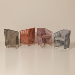 Bitta full dining armchair | Chairs | KETTAL