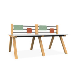 Zee Bench Desk | Tischsysteme | Spacestor