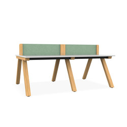 Zee Bench Desk | Escritorios | Spacestor