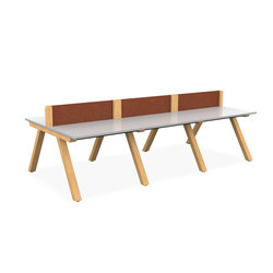 Zee Bench Desk | Desking systems | Spacestor