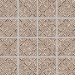 Cross-Colors Mingles Brown Tweed | Keramik Mosaike | Crossville