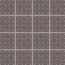 Cross-Colors Mingles Burgundy Smoke | Keramik Mosaike | Crossville