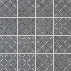 Cross-Colors Mingles Graphite | Ceramic mosaics | Crossville