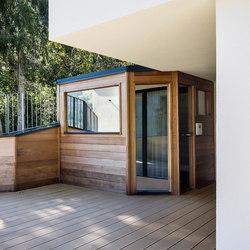 Cedar Outdoor sauna | Saunas | DEISL SAUNA & WELLNESS