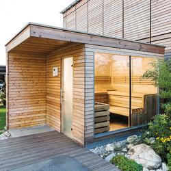 Spruce Outdoor sauna | Saunas | DEISL SAUNA & WELLNESS