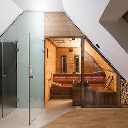 Spruce Giebelsauna | Saune infrarossi | DEISL SAUNA & WELLNESS