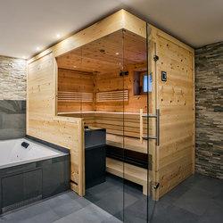 Swiss pine Indoor sauna | Saunas | DEISL SAUNA & WELLNESS