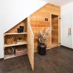 Swiss pine Giebelsauna | Saunas infrarrojas | DEISL SAUNA & WELLNESS