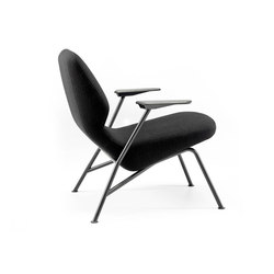 Oblique easy chair metal | Lounge chairs | Prostoria