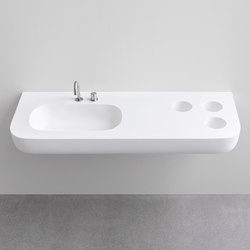 Esperanto integrated top | Wash basins | Rexa Design