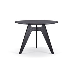 Lavitta Round Table 100cm – Stained Black | Dining tables | Poiat