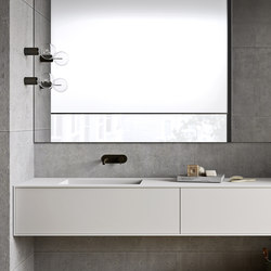 Unico Washbasin | Vanity units | Rexa Design