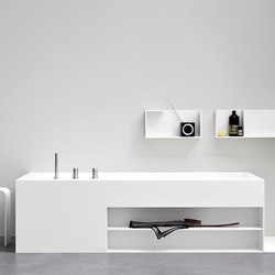 Unico Bathtub | Bathtubs rectangular | Rexa Design