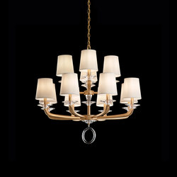 Emilea Chandelier | Ceiling suspended chandeliers | Swarovski Lighting