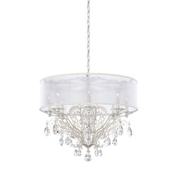 Filigrae Chandelier Shade | Ceiling suspended chandeliers | Swarovski Lighting