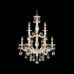 Milano Chandelier | Ceiling suspended chandeliers | Swarovski Lighting