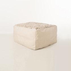 Accessories | Site Brick outdoor pouf | Poufs | Warli