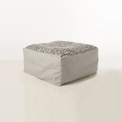 Accessories | Site Brick outdoor pouf | Poufs | Warli