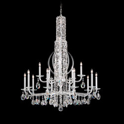Sarella Chandelier | Ceiling suspended chandeliers | Swarovski Lighting