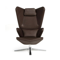 Trifidae lounge chair leather | Poltrone lounge | Prostoria