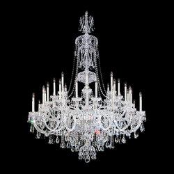 Sterling Chandelier | Chandeliers | Swarovski Lighting
