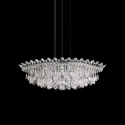 Trilliane Strands Pendant | Suspended lights | Swarovski Lighting