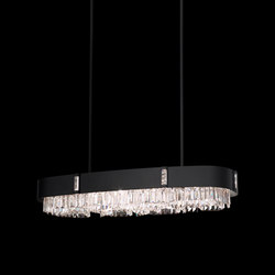Zeppa | Suspended lights | Swarovski Lighting