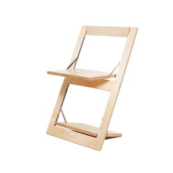 Fläpps Folding Chair | Birch clear | Chairs | Ambivalenz