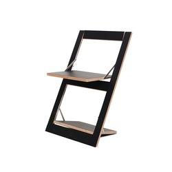 Fläpps Folding Chair | Black | Sillas | Ambivalenz